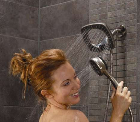 dual shower heads go ahead spoil yourself